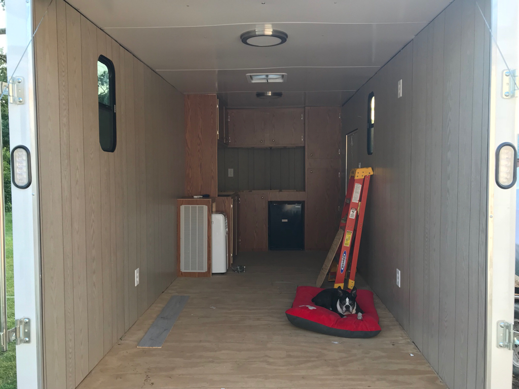 Silveradosierra Com Enclosed Trailer To Toy Hauler Conversion Project Tailgate Talk Page 3