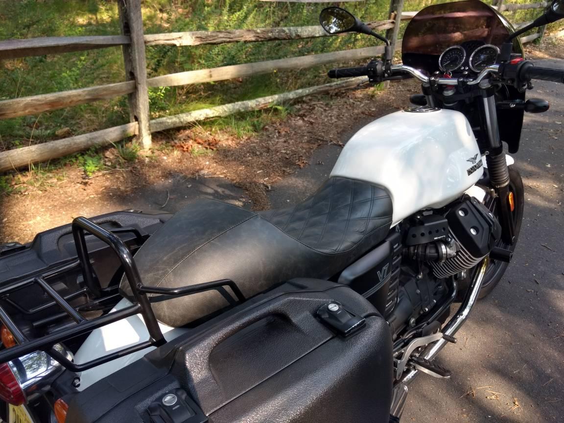 V7/V7 II Corbin Seat - start of a review