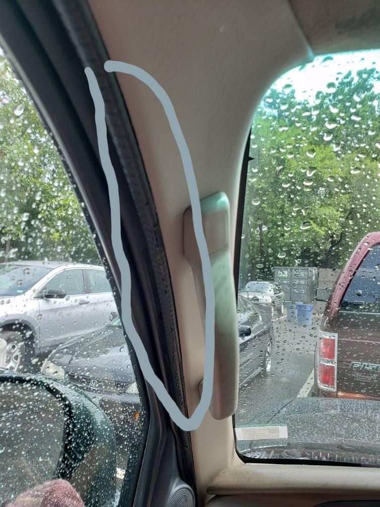 Leak on the A Pillar - Toyota 4Runner Forum - Largest 4Runner Forum