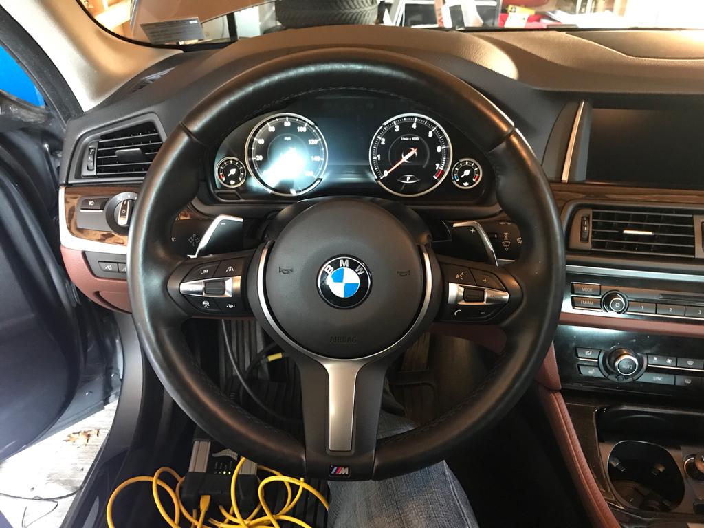 Fxx-/Ixx-/Gxx-series 5AR TJA retrofit steering wheel - Bimmerfest