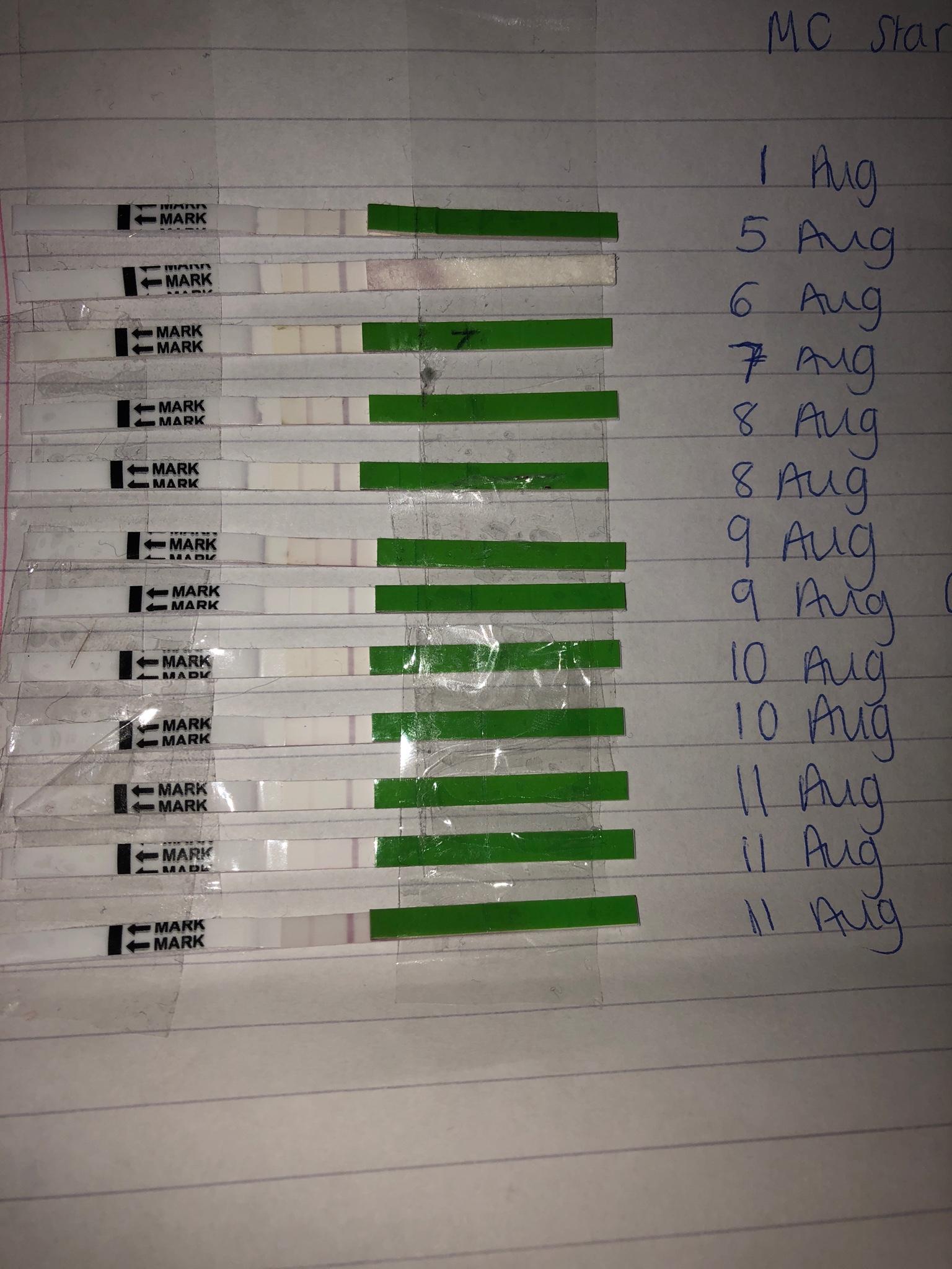 One Step Ovulationstest Positiv