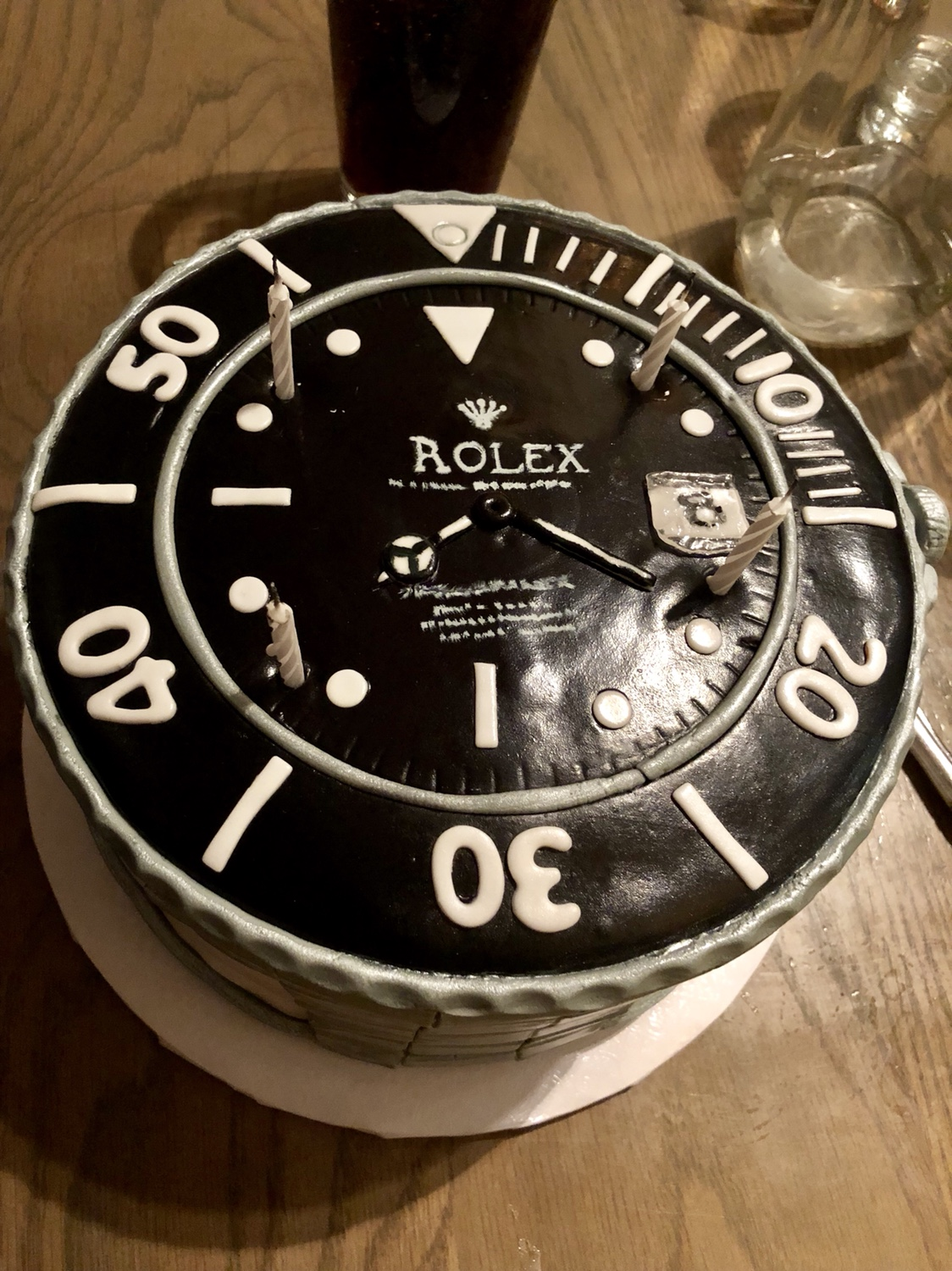 Groovy Rolex Birthday Cake Rolex Forums Rolex Watch Forum Personalised Birthday Cards Arneslily Jamesorg