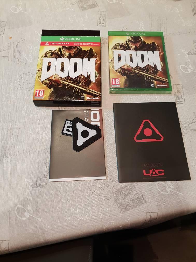 Citaten Weergeven Xbox One : Xbox one be games doom uac editie