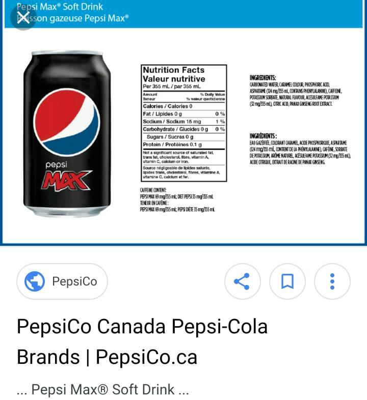 Diet coke calories - Anorexia