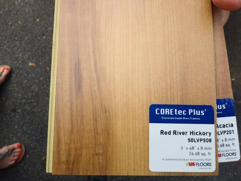 Lvp On Basement Concrete Floor Cork Vs Foam Backing Vapor