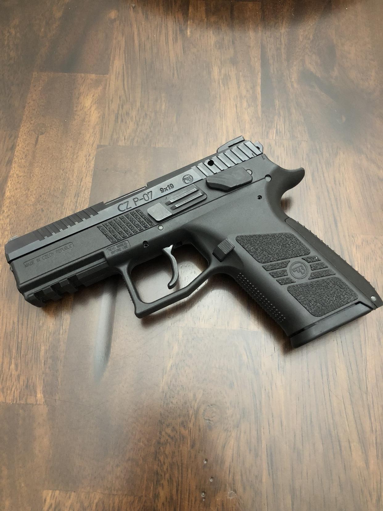 New CZ P-07 = Mind Blown [Archive] - Page 2 - pistol-forum com