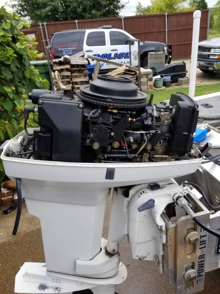 Johnson 48 hp tune up - TinBoats net
