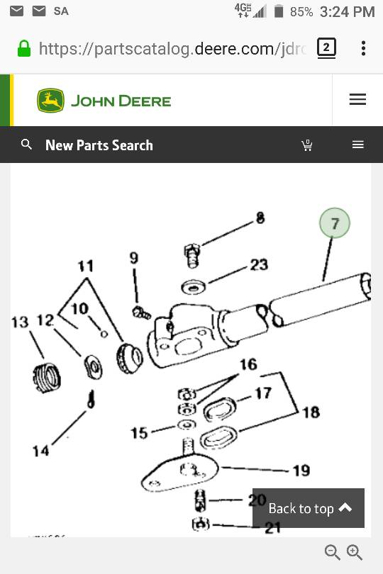 314 steering column rebuild  Spacer question