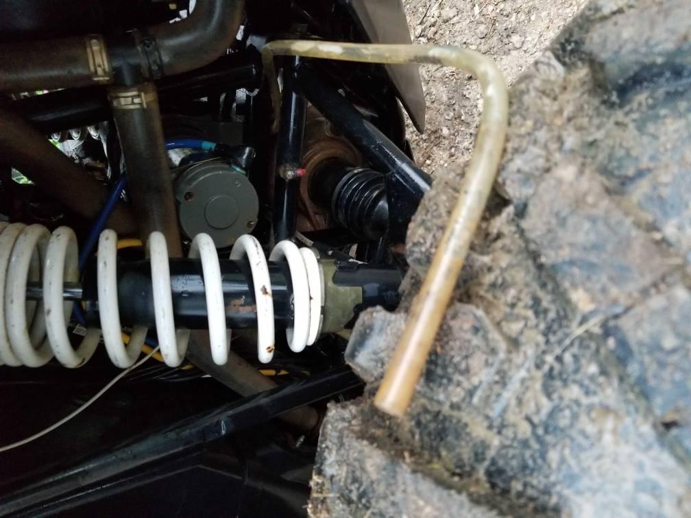 Front diff breather tube tube location - Polaris RZR Forum