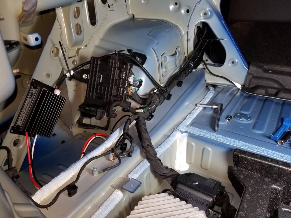 Fuel pump voltage booster install questions - CAMARO6