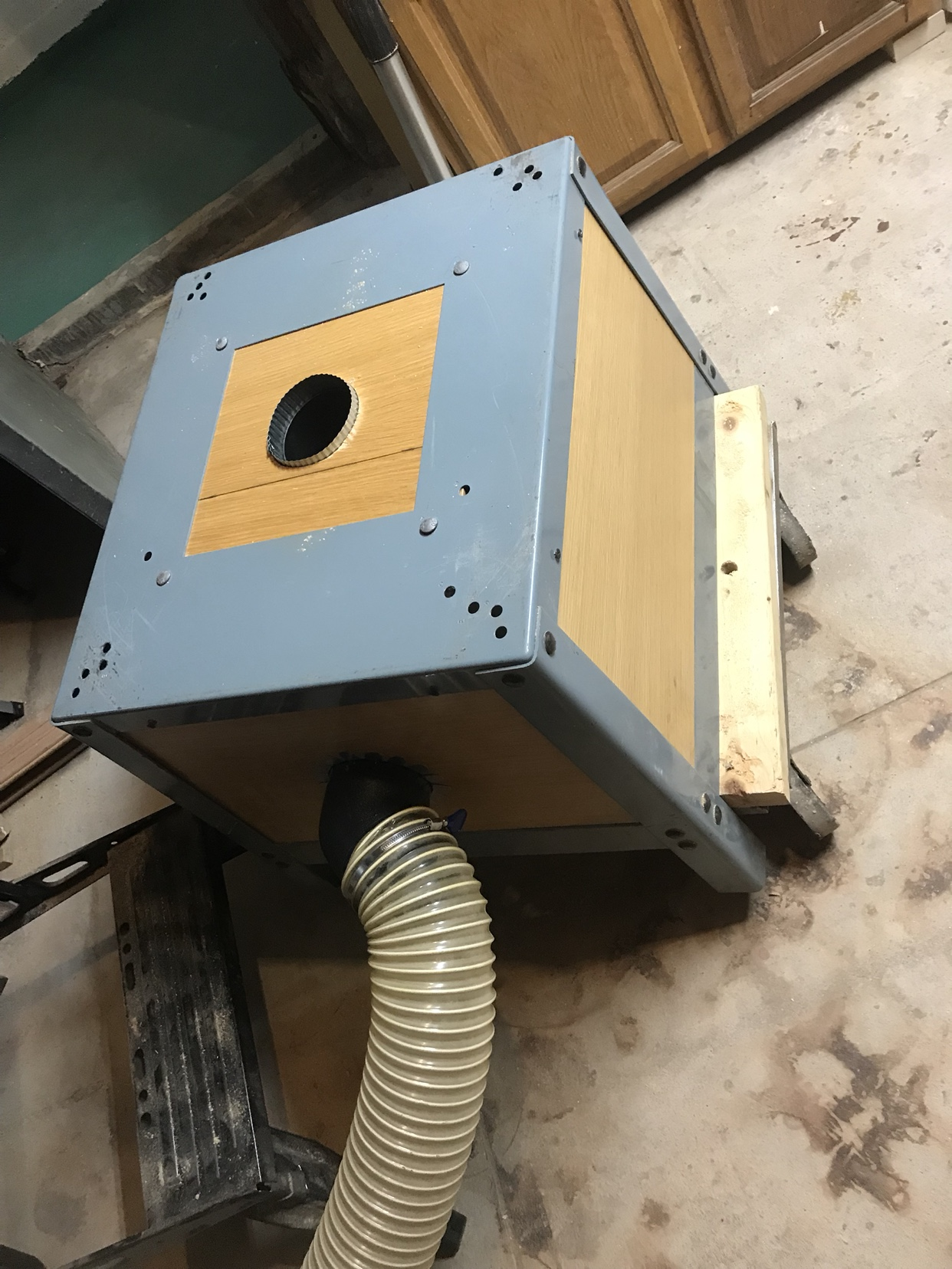 Table Saw Dust Collection Woodworking Talk Woodworkers Forum
