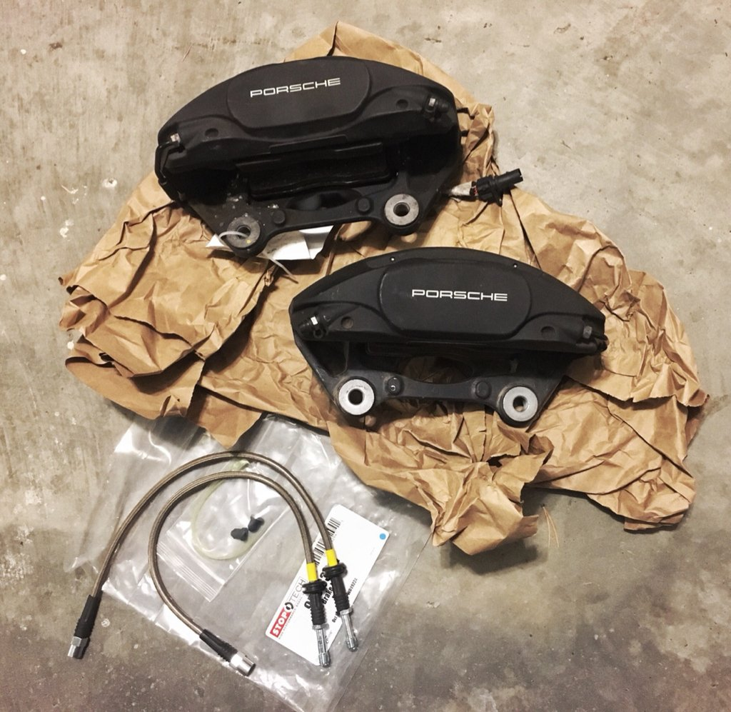 for sale porsche macan 345mm brembo q5 calipers front. Black Bedroom Furniture Sets. Home Design Ideas