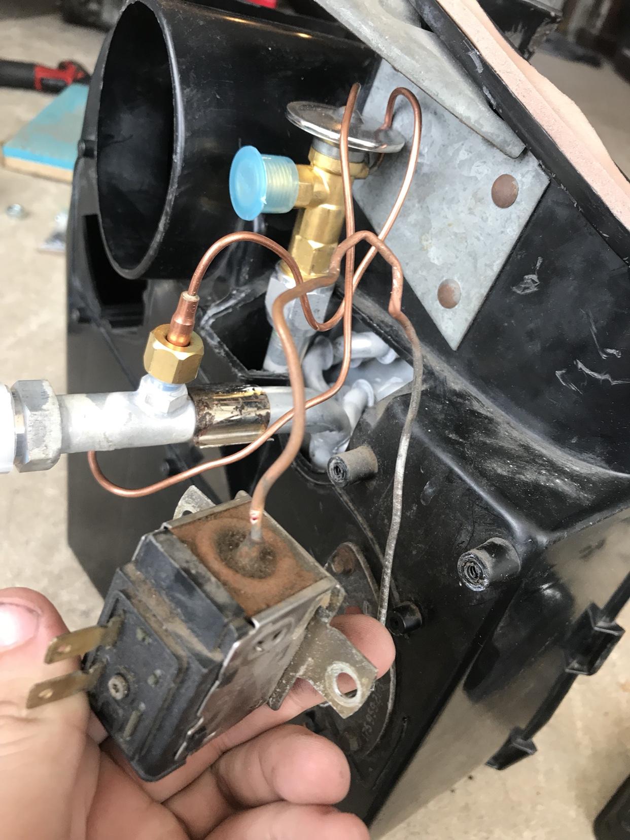 VWVortex com - WTB: evaporator temperature sensor