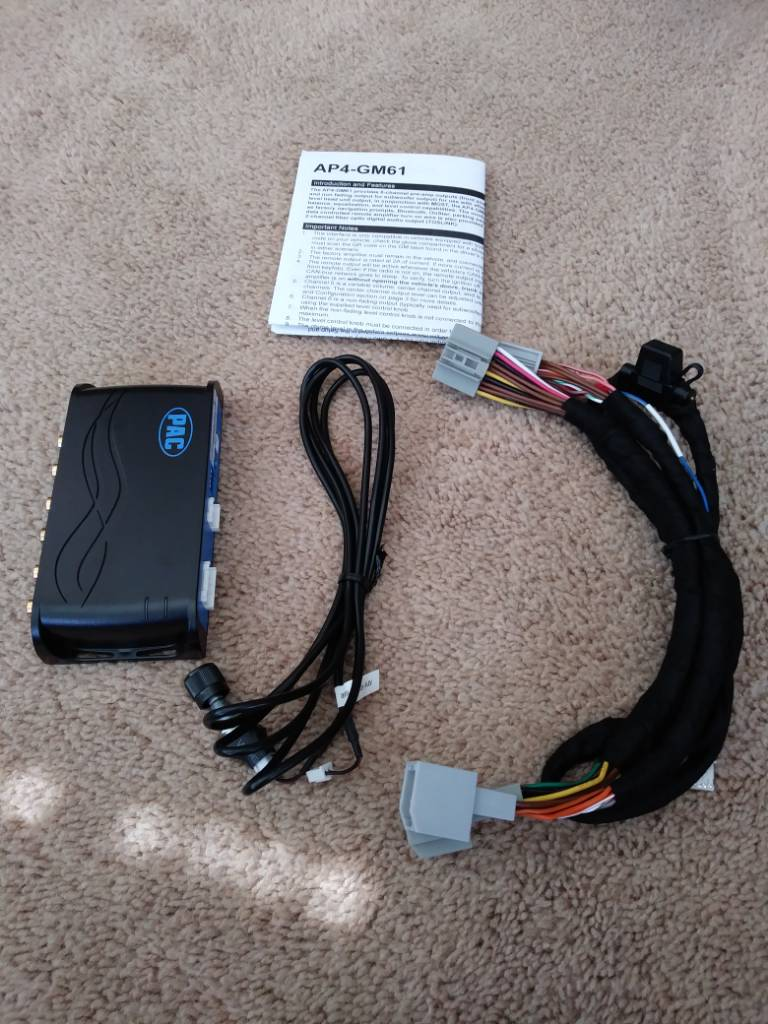 Pac Ap4 Gm61 Page 2 Car Audio Stereo Chevy Wiring Harness This Image Has Been Resized Click Bar To View The Full Original Is Sized 12