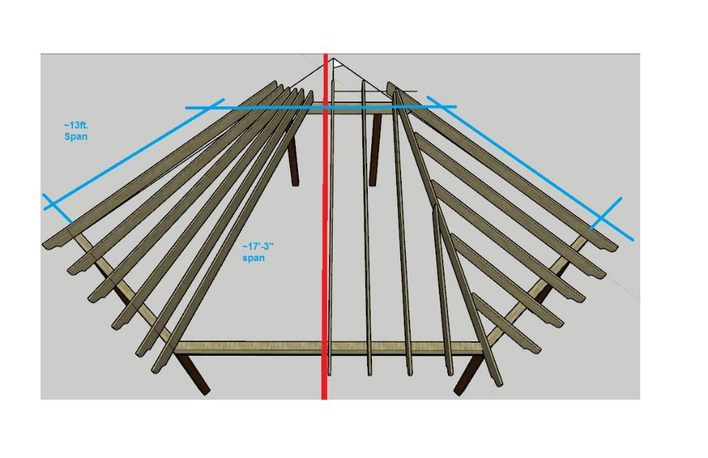 Patio Cover Roof Framing - Building & Construction - DIY Chatroom ...