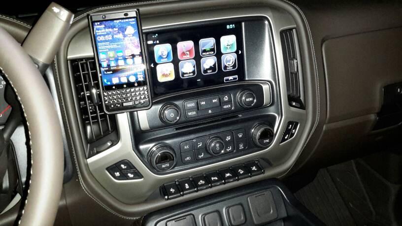 2018 Gmc Sierra >> Cell Phone Holder - 2014-2018 Silverado & Sierra Mods - GM ...