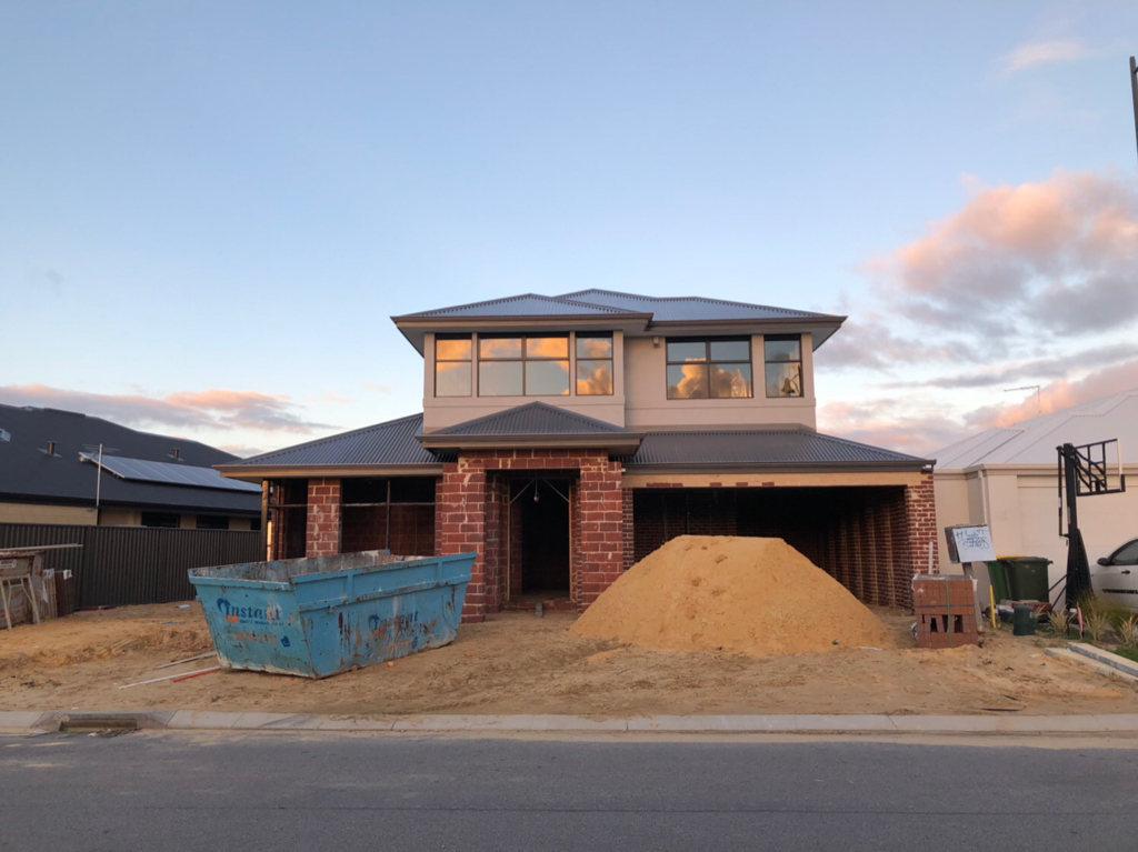 Building again, Ben Trager homes WA