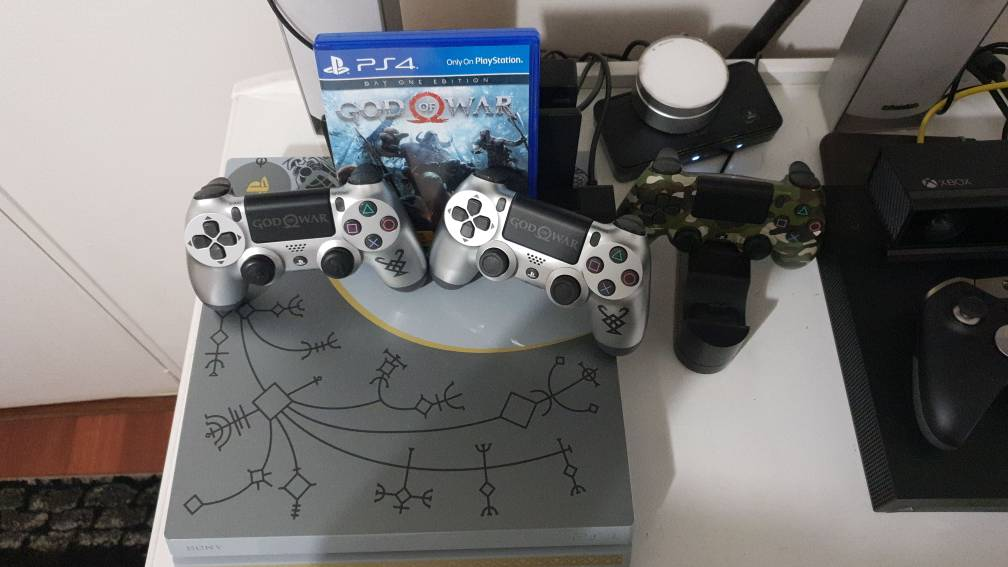 For Sale Ps4 Pro 1 Tb God Of War Limited Edition
