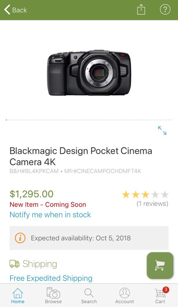 Blackmagic Forum • View topic - BMPCC 4K - While We Wait