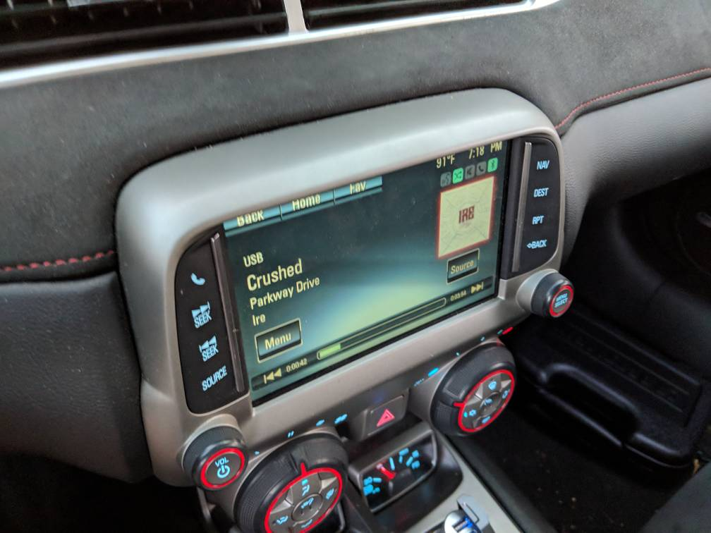 Chevy Mylink Software Update >> Mylink with nav and heated seats 2015 - Camaro5 Chevy Camaro Forum / Camaro ZL1, SS and V6 ...