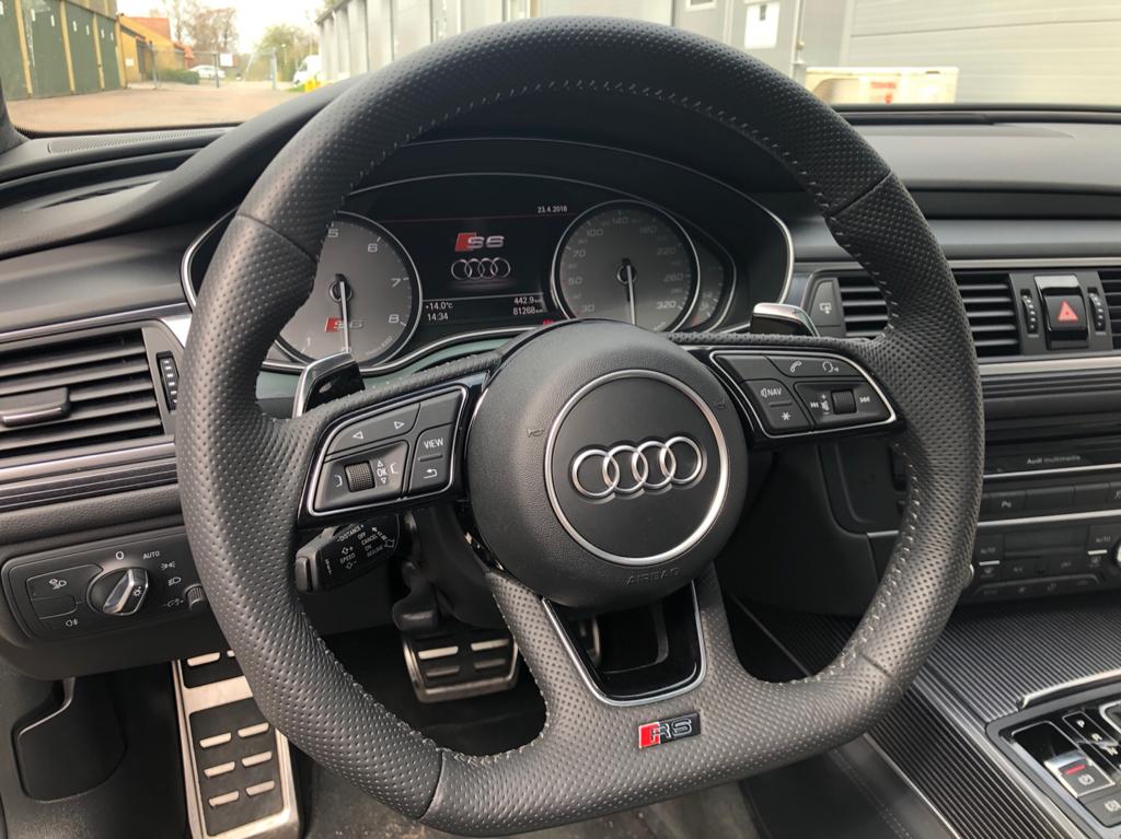 Gen 2 R8 Steering Wheel Retrofit Into Rs7