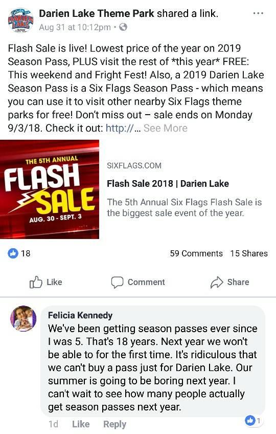 Theme Park Review • Six Flags Darien Lake (SFDL) Discussion