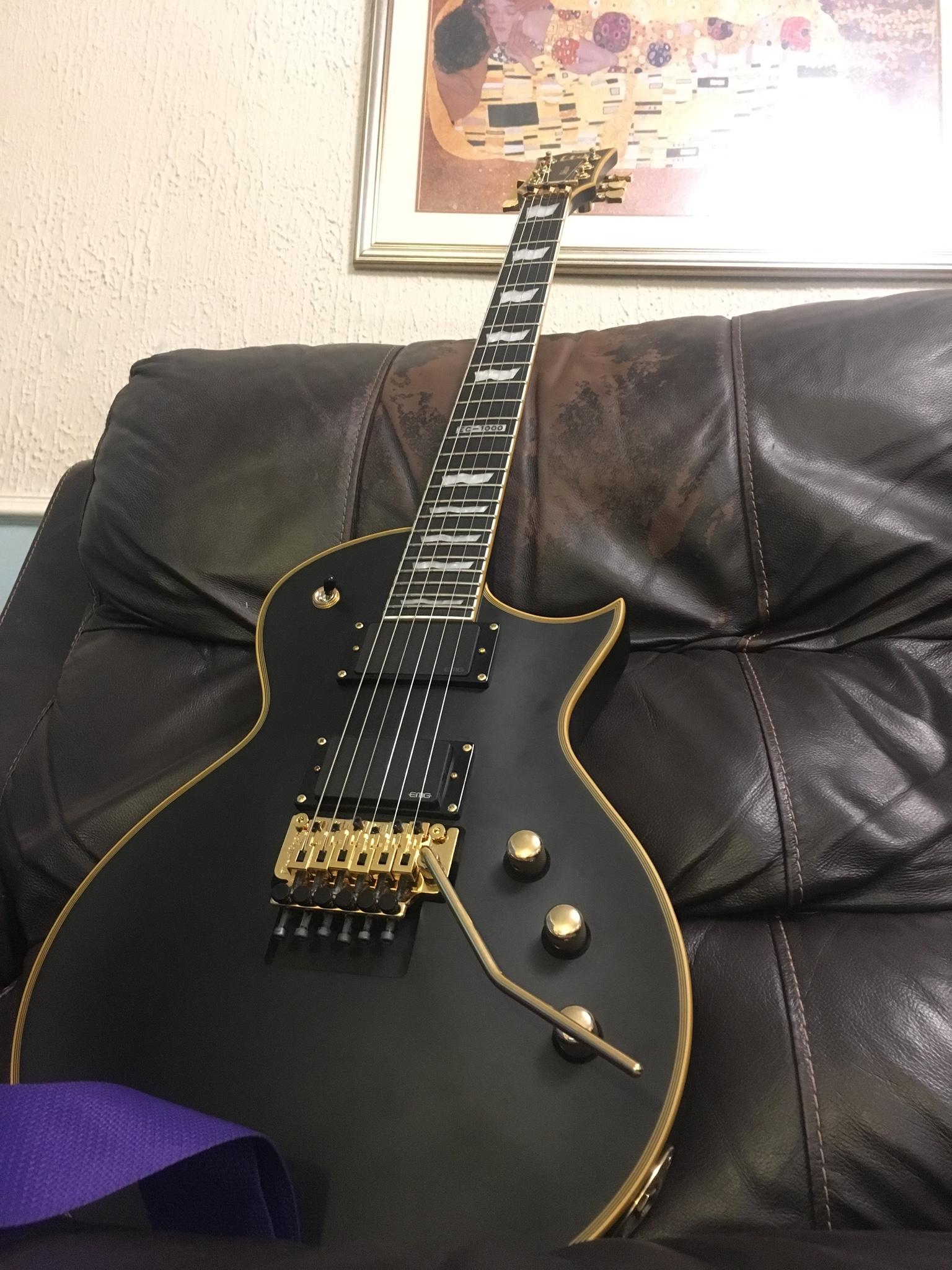 Ngd Ltd Ec 1000 Fr Jackson Guitar With Emg Pickup Wiring Mahogany Body Set Thru Neck 2475 Scale Length Ebony Fretboard 24 Frets Thin U Shape 81 60 Combo Vol Tone