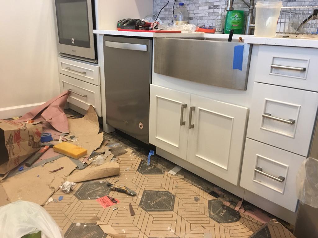Running Toe Kick Under Dishwasher General Diy Discussions