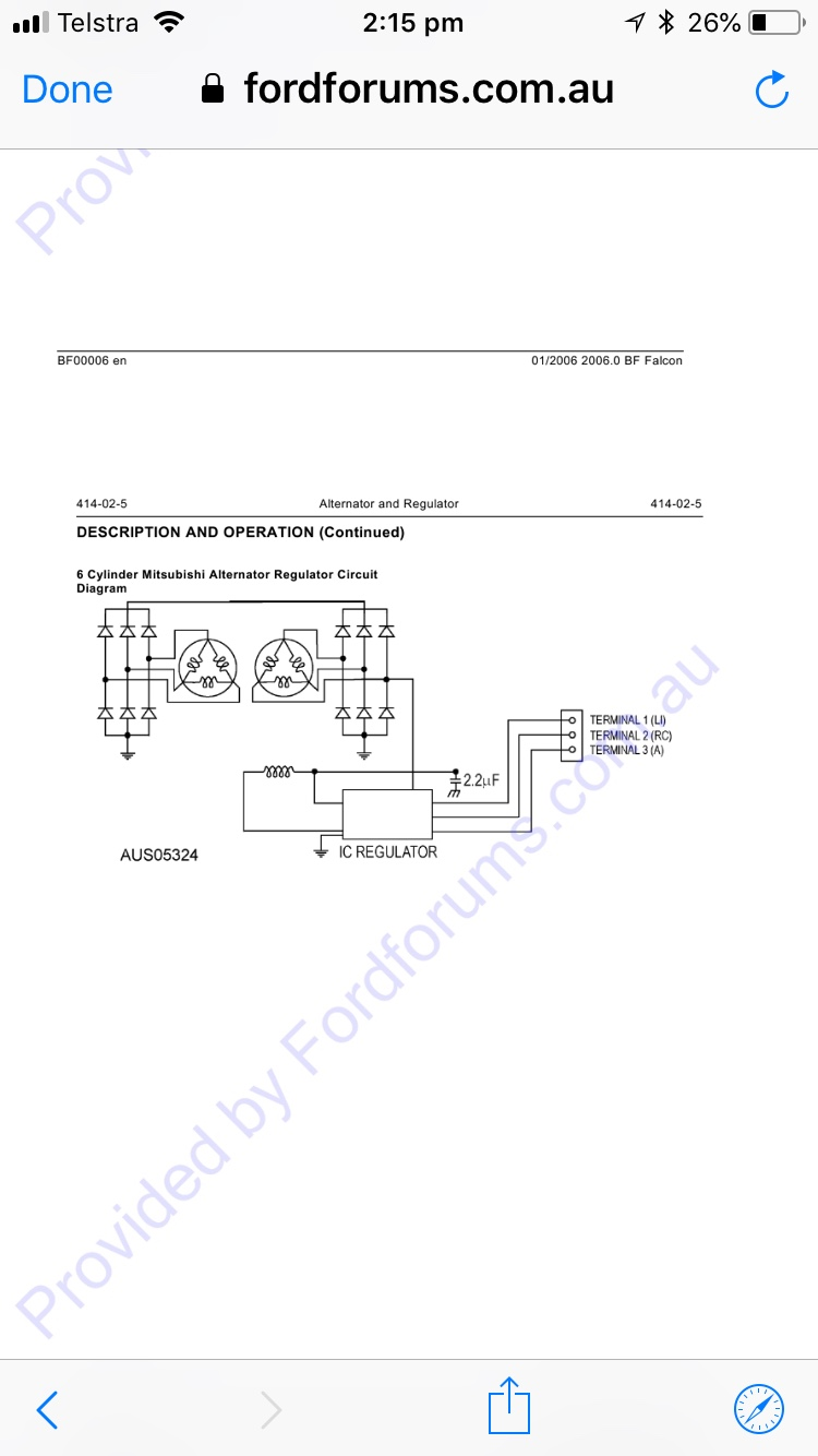 Bf Falcon Wiring Diagram
