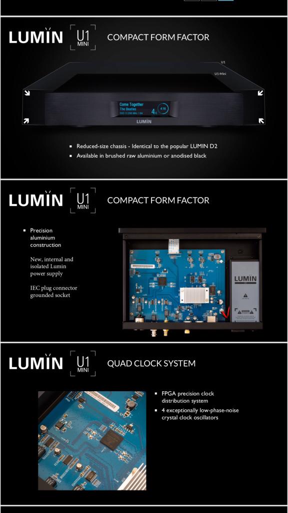 Lumin U1MINI [Archive] - AudioShark Forums