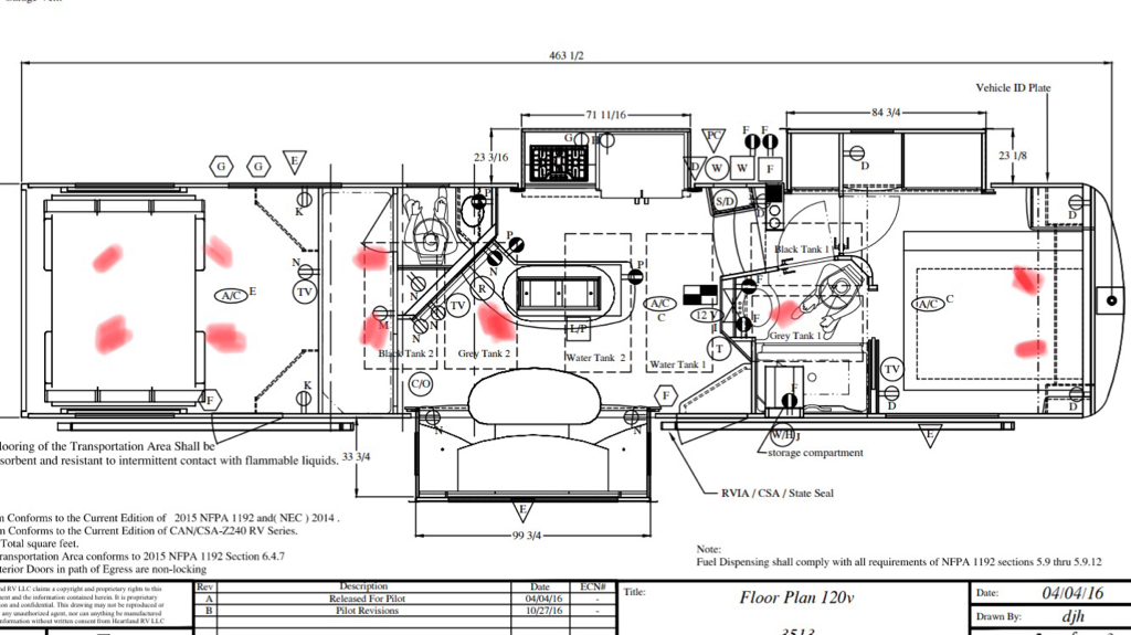 AC air flow problem SOLVED [Archive] - land Owners Forum Ragen Fifth Wheel Wiring Diagram on