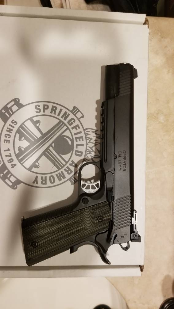 10mm TRP finicky with ammo or normal break-in? - 1911Forum
