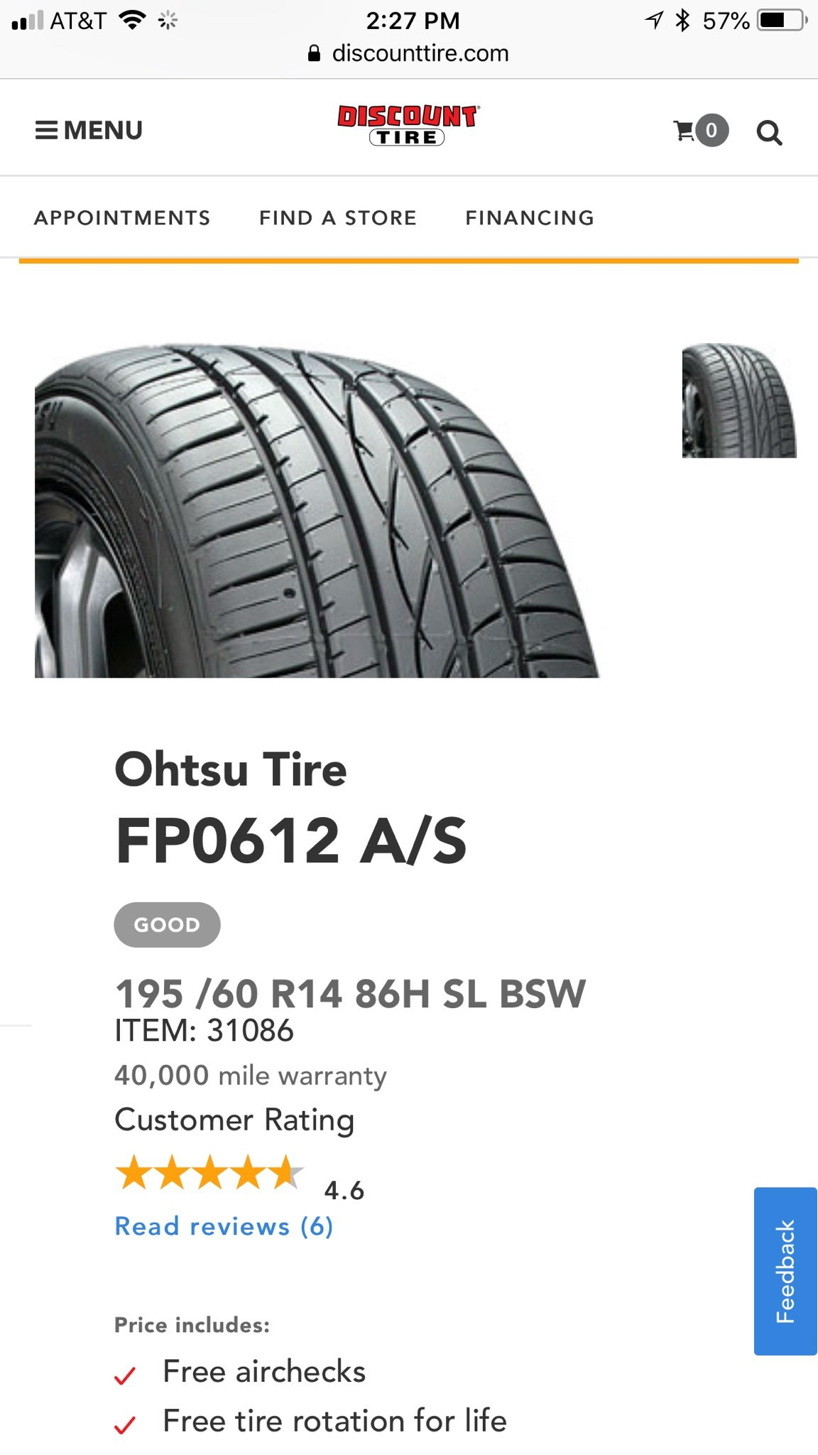 Ohtsu tires - MX-5 Miata Forum