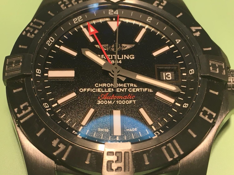 Service σε ρέπλικα Breitling Avenger II GMT Volcano - Ρολόγια Replica