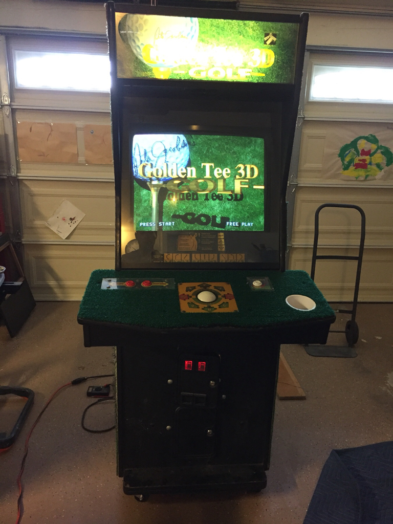FS Parts: Golden tee 3D PCB - Coin-op Videogame, Arcade ...