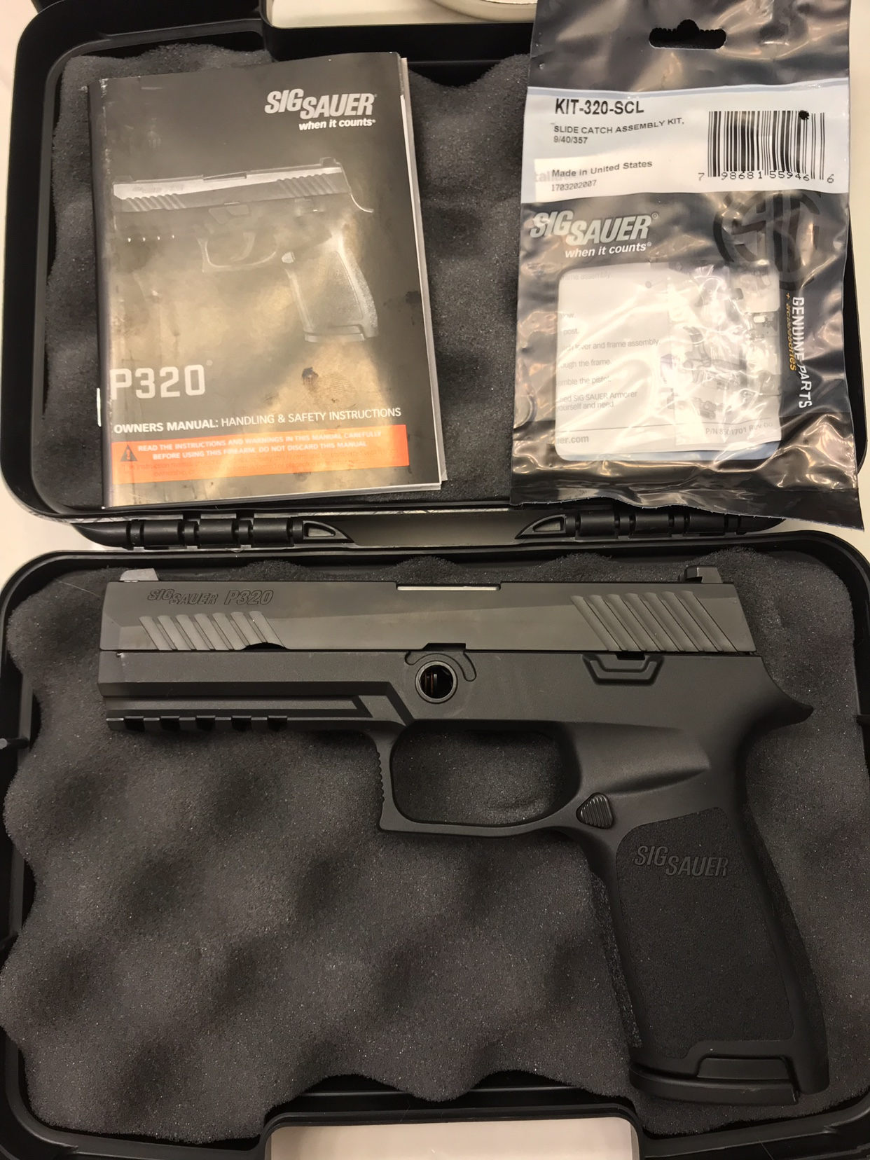 For Sale: SIG P320 9mm Full-Size Caliber X-Change Kit( < 75