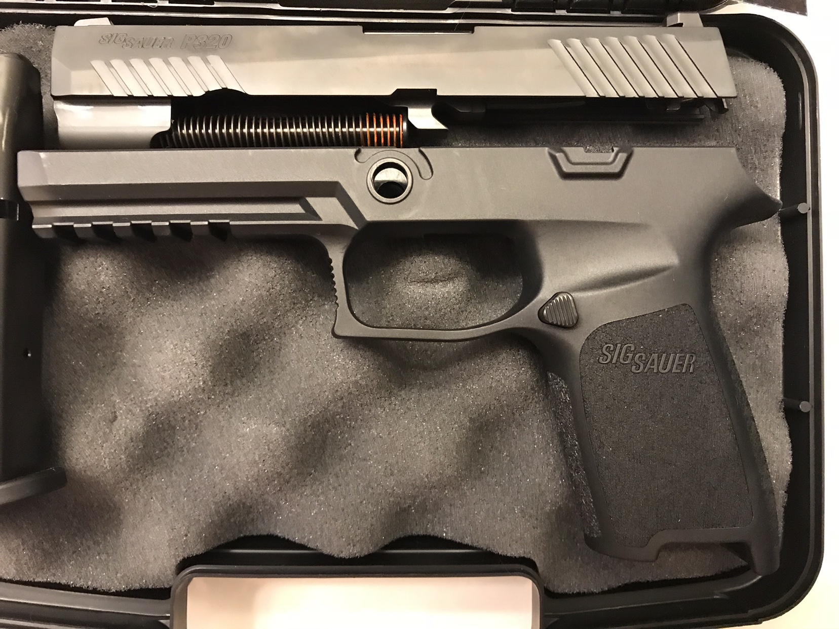 For Sale: SIG P320 9mm Full-Size Caliber X-Change Kit( < 75 rounds)