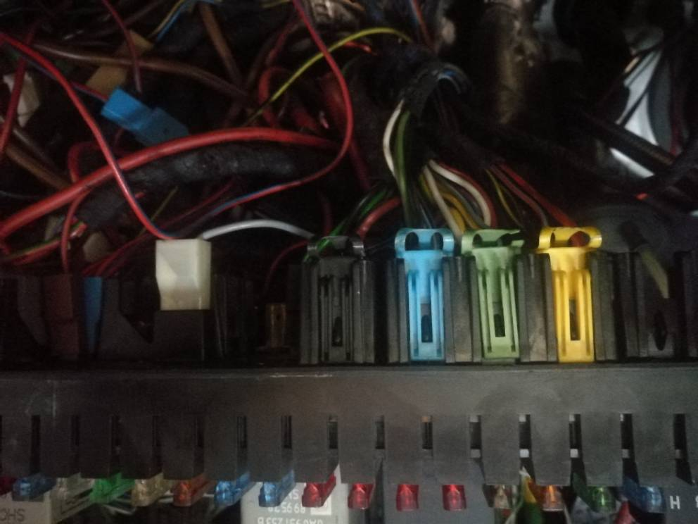 Fuse box connections on underside - S2Forum - The Audi S2 Community | Audi S2 Fuse Box |  | S2Forum