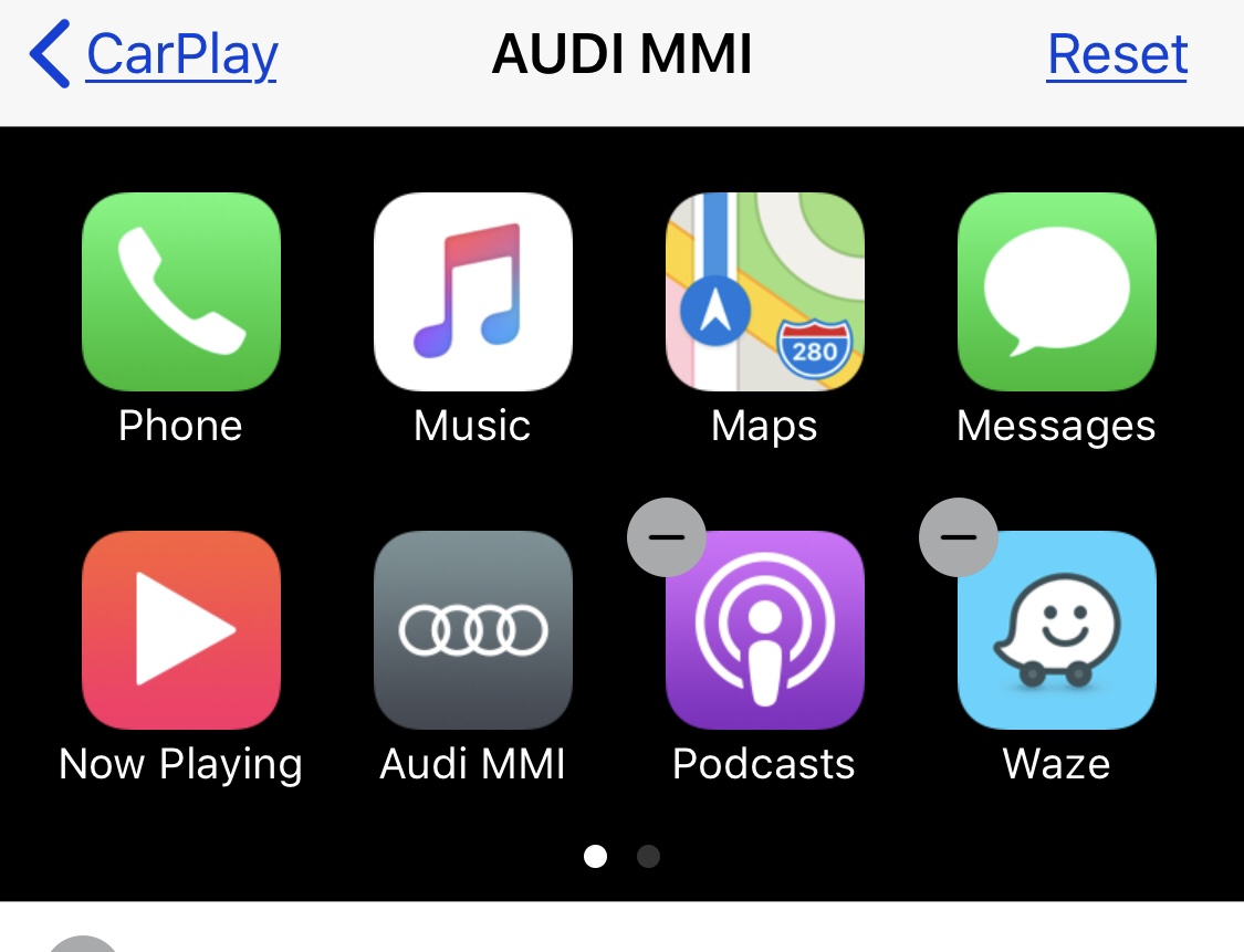 Unable to get Apple Carplay working in iOS 12 | Audi-Sport net