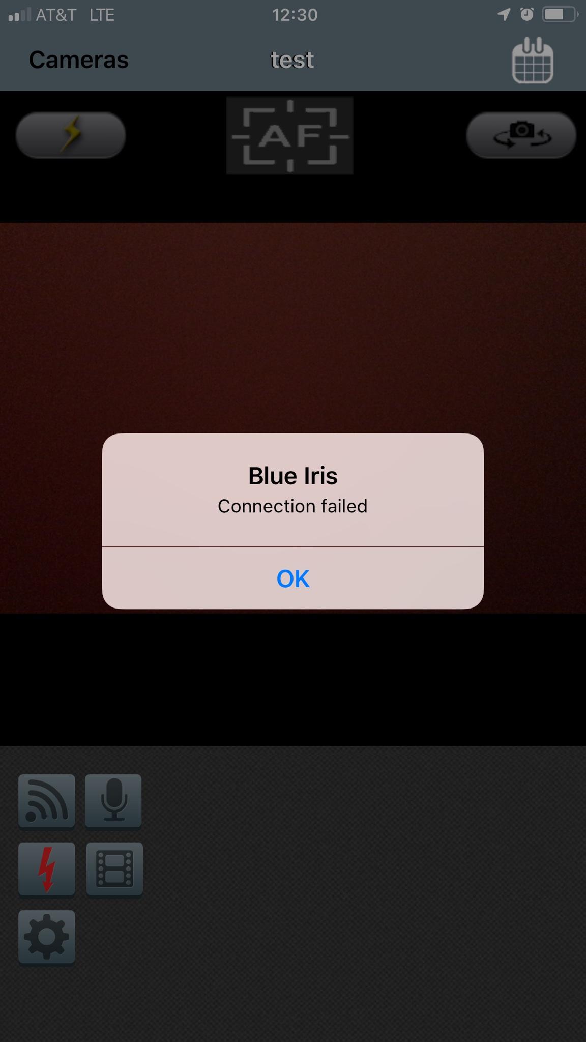 iOS Camera Connect Failed | IP Cam Talk