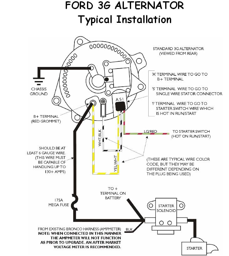 diagram ford 4g alternator wiring diagram full version hd