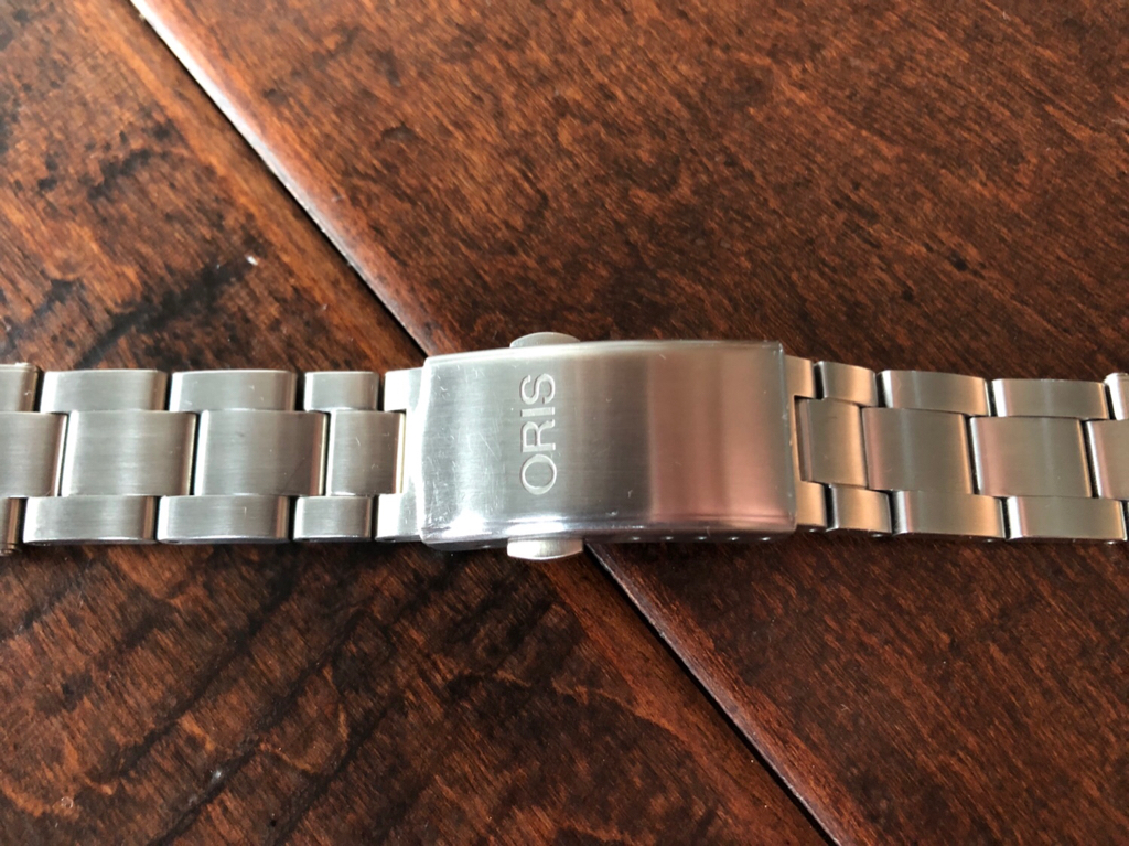 20mm Stainless Steel Rivet Style Bracelet For The Oris Divers Sixty Five This Is Oem That Will Fit All 40mm Diver 65 Versions