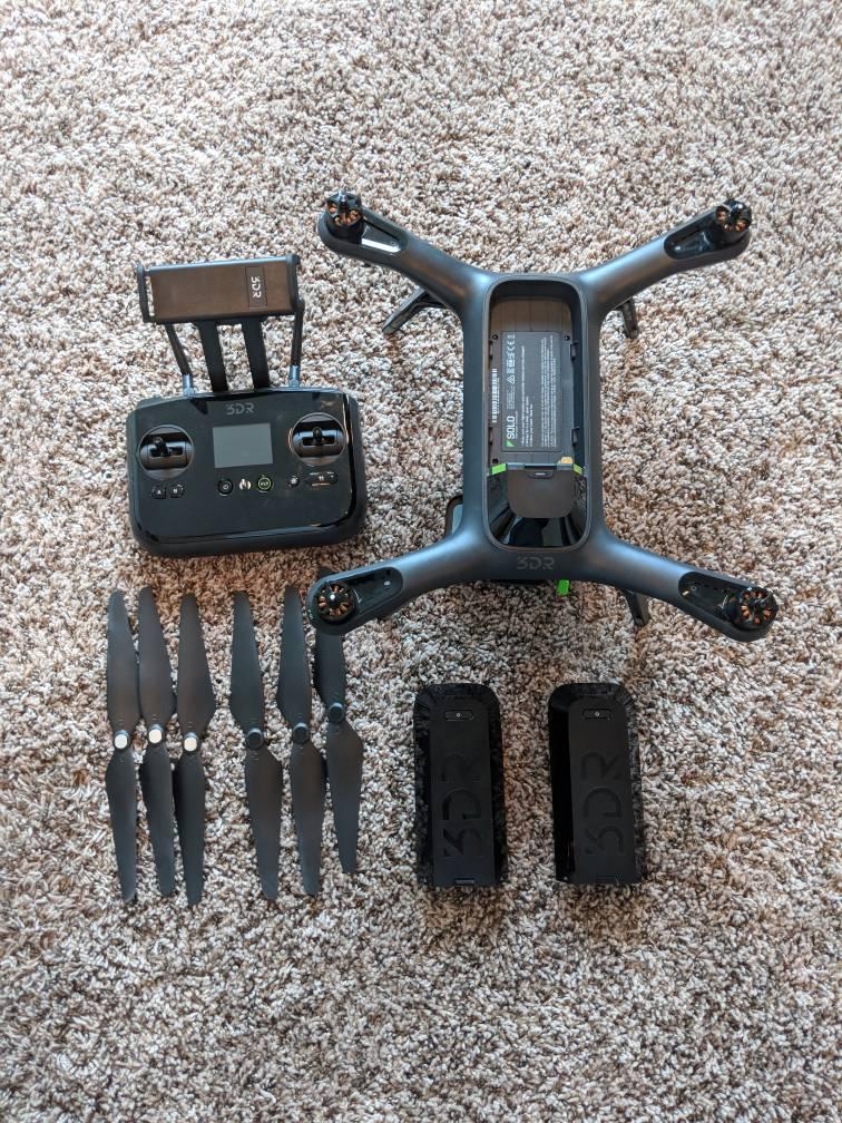 3DR Solo + Gimbal + Extras | 3D Robotics Drone Forum