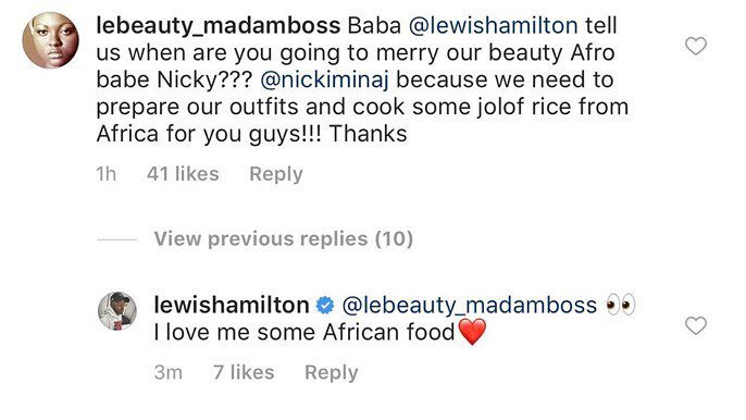 Could there be wedding bells in the future for Nicki and Lewis