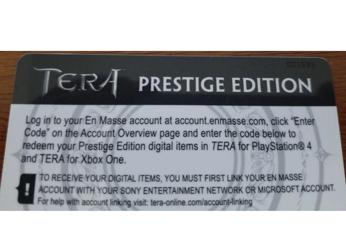 TERA steelbook ps4 xbox - Collectors Edition Forums