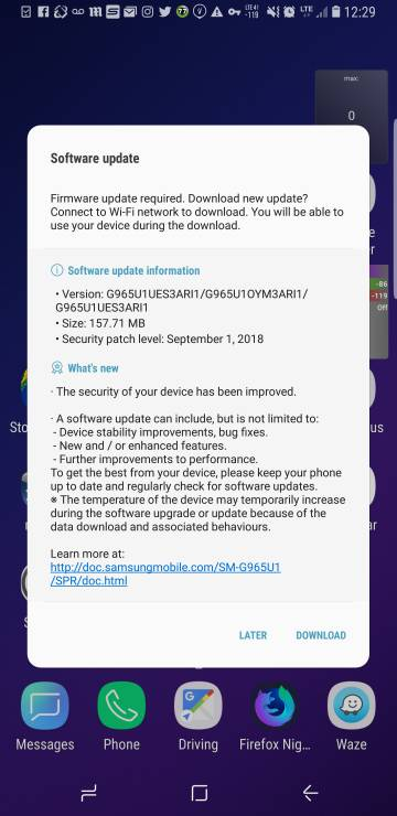 Galaxy S9 Series user thread - Page 21 - Samsung - S4GRU Sprint 4G