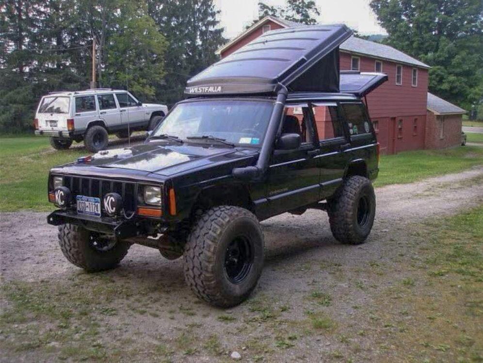 Jeep XJ Westfalia Camper Build - The