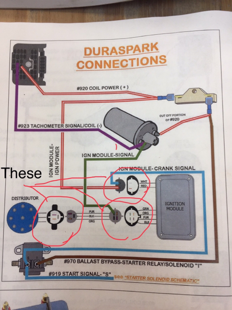 Duraspark Ignition And Painless Wiring Harness Help - Wiring