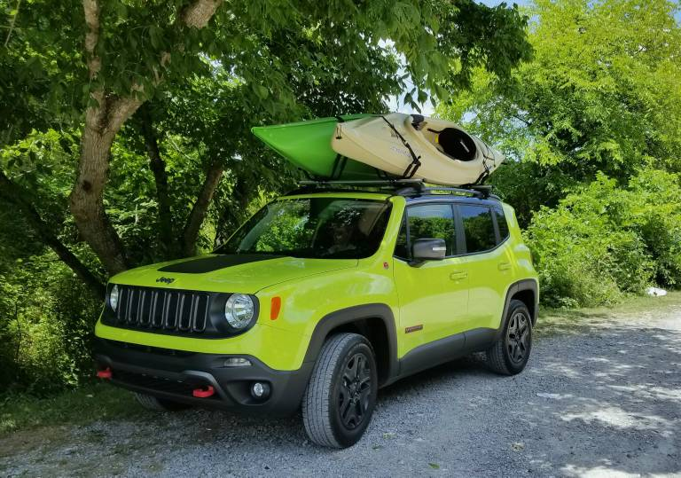 Hauling A Kayak Without Roof Rack Jeep Renegade Forum
