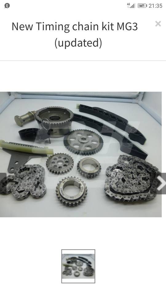 4 week wait for parts for timing chain kit  - MG-Rover org Forums